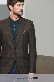 Signature British Wool Slim Fit Blazer