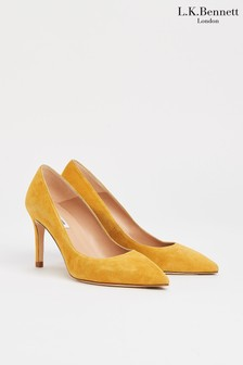 L.K.Bennett Floret Single Sole Pointed Pumps