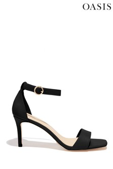 Oasis Black Estella Going Out Heels