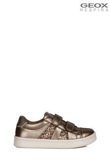 Geox Girl's Djrock Black Shoes