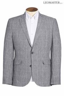 Leomaster Linen Check Jacket