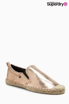 Superdry Rose Gold Liora Espadrille