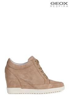 Geox Women's Carum Bronze Shoes