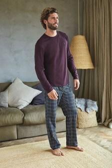 Check Cosy Pyjama Set