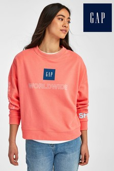 Gap Coral Sweat Top