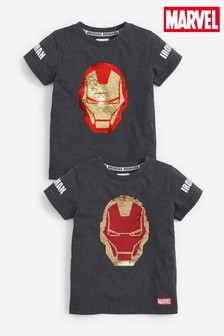 Ironman Flippy Sequin T-Shirt (12mths-8yrs)