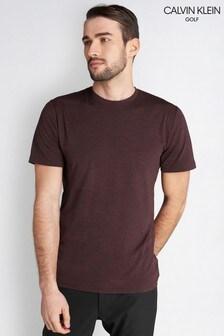 Calvin Klein Golf Burgundy Newport T-Shirt