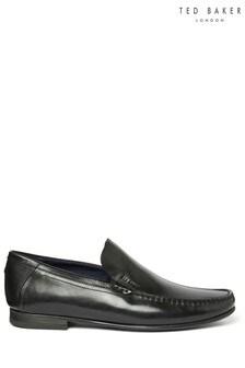 Ted Baker Black Lassty Slip-On Shoes