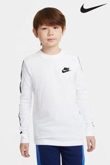 Nike Taped Long Sleeved T-Shirt
