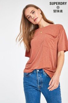 Superdry Red Pocket T-Shirt