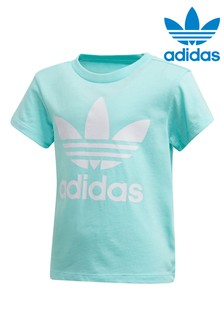 adidas Originals Little Kids Aqua Trefoil T-Shirt