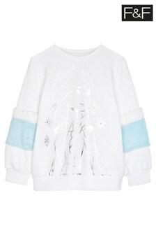 F&F Cream Disney™ Frozen Sweater