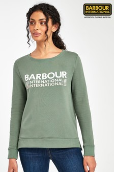 ​​​​​​​סווטשירט Trackrace עם לוגו של Barbour® International