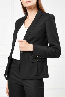 Single Breasted Pocket Jacket