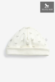 The Little Tailor Cream All Over Print Rocking Horse Jersey Hat