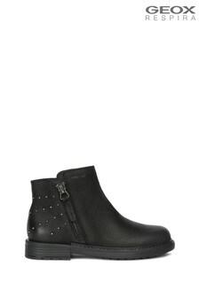 Geox Girl's Eclair Black Boot