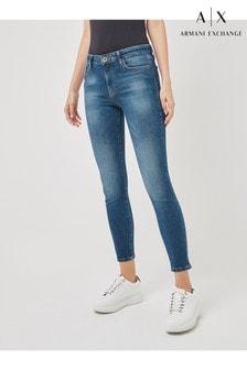 Armani Exchange J10 Crop Super Skinny Jeans