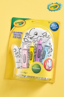 Crayola Colouring Crayons And Mitt Gift Set