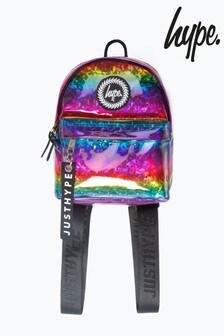Hype. Rainbow Glitter Mini Backpack