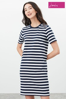 Joules Blue Liberty A-Line Dress