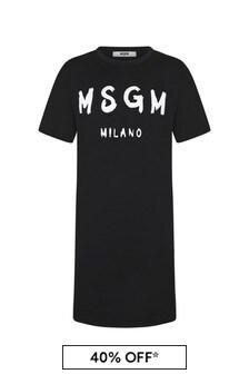 MSGM Girls Cotton Dress