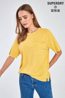Superdry Yellow Pocket T-Shirt