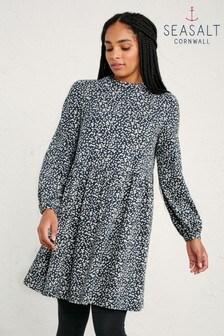 Seasalt Petite Hammered Marks Granite Selven Dress