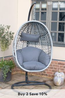 Ascot Hanging Chair By Maze Rattan