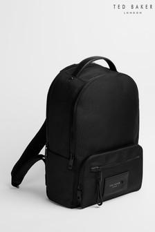 Ted Baker Black Ellwood Travel Nylon Backpack