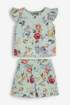 Floral Co-ord Set (3mths-7yrs)