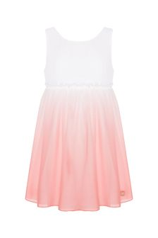 Carrement Beau Girls White Dress