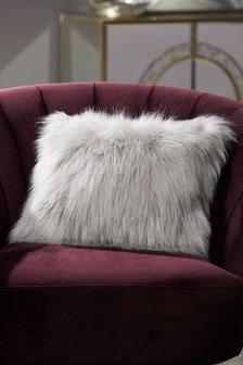 Arctic Cosy Faux Fur Rectangle Cushion