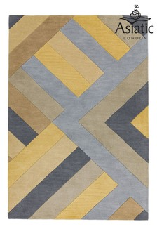 Reef Wool Big Zig Rug by Asiatic Rugs