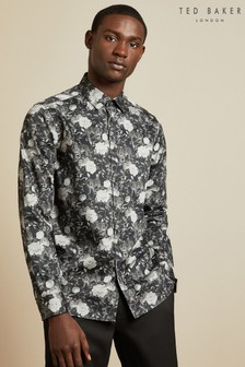 Ted Baker Black Floral Shirt