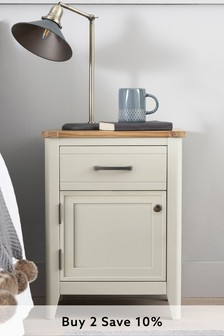 Newhaven Painted Storage Side Table