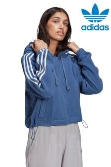 adidas Originals Polar Fleece Zip Through Hoody