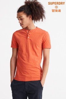 Superdry Rust Short Sleeve Grandad T-Shirt
