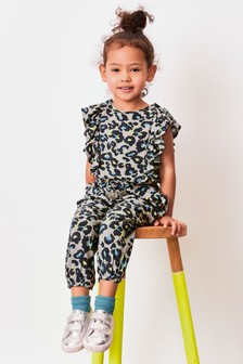 Animal Print Jumpsuit (3mths-7yrs)