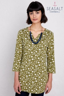 Seasalt Green Craftswoman Garden Tulip Creek Tunic