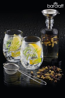 6 Piece Barcraft Gin Making Set