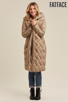FatFace Jenny Textured Padded Jacket