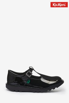 Kickers Patent Leather Kick-T Shoes