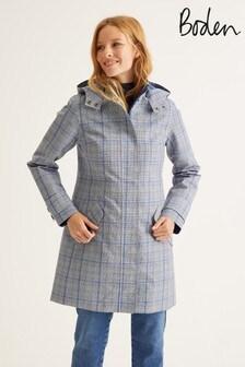 Boden Navy Suki Waterproof Coat