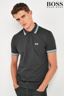 BOSS Grey Paddy Poloshirt
