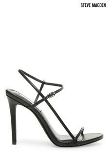 Steve Madden Oaklyn Black Strappy Sandals
