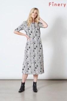 Finery London Grey Libby Dress