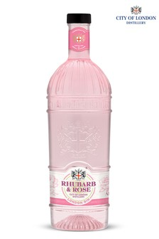 Rhubarb & Rose Gin 70cl by City Of London