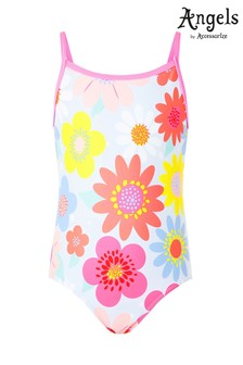 Angels by Accessorize Multi Retro Floral Swimsuit