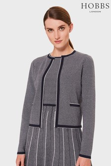 Hobbs Blue Sophie Knitted Jacket