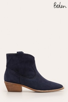 Boden Blue Allendale Ankle Boots